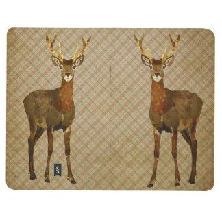 Elk Plaid Pocket Journal