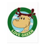 Elk Post Card