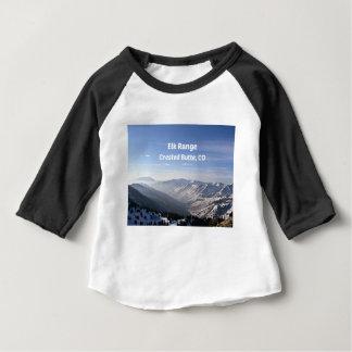 Elk Range, Crested Butte, CO Baby T-Shirt