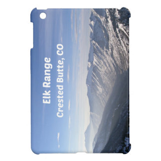 Elk Range, Crested Butte, CO iPad Mini Case