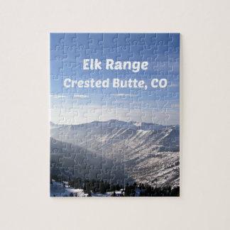 Elk Range, Crested Butte, CO Jigsaw Puzzle