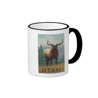 Elk SceneUtah Coffee Mug