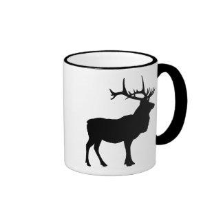 Elk Silhouette Mugs
