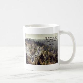 Elk skull mug