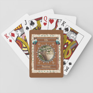 Elk  -Stamina- Classic Playing Cards