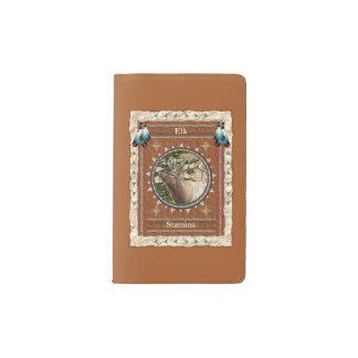Elk  -Stamina- Notebook Moleskin Cover