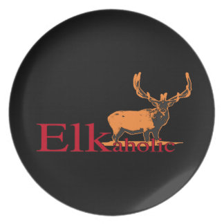 Elkaholic 2 plate