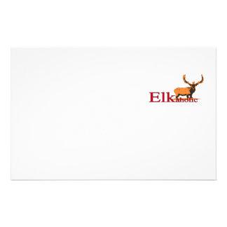 Elkaholic 2 stationery