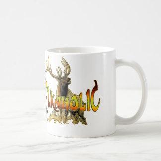 elkaholic elk gift basic white mug
