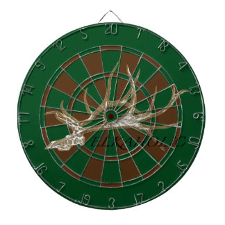 Elkaholic side view dartboard