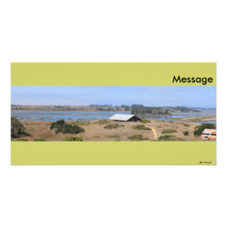Elkhorn Slough Natural Reserve Panoramic Picture Card