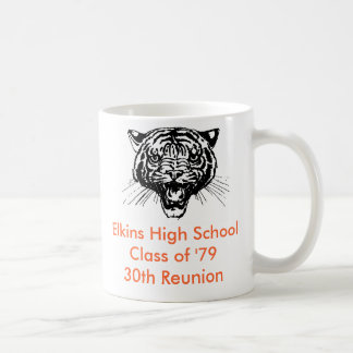 Elkins High School Class Of '79 30th Reunion Mug