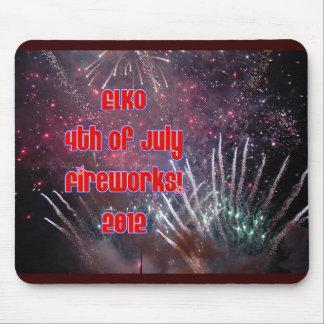 Elko Fireworks 2012 Mousepad