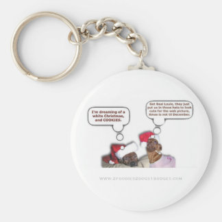 Ella & Louie Discuss Life - Keychain