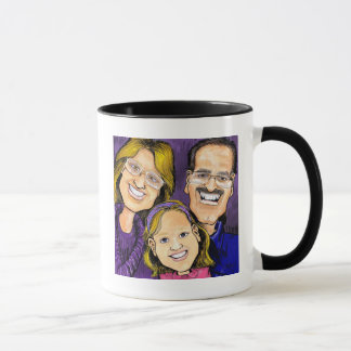 Ella, Matt, & Gracie Mug