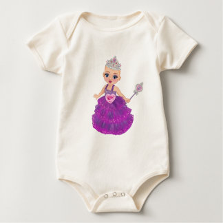 Ella The Enchanted Princess Who Are You? Baby Bodysuit