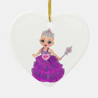 Ella The Enchanted Princess Who Are You? Ceramic Ornament