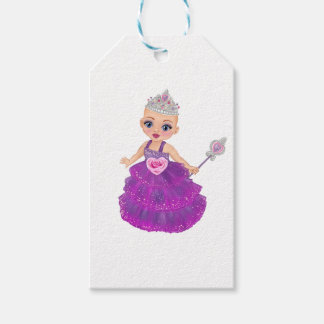 Ella The Enchanted Princess Who Are You? Gift Tags
