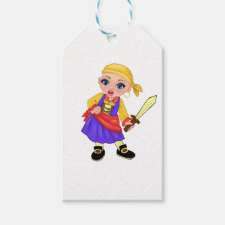 Ella The Enchanted Princess Who Are You? Pirate Gift Tags