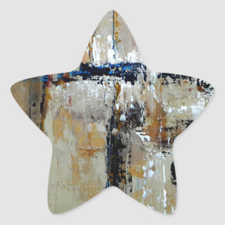 Elle-abstract-025-2424-WP-Original-Abstract-Art-Re Star Sticker