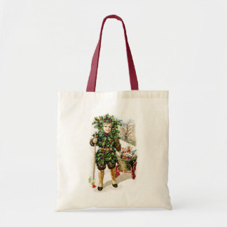 Ellen Clapsaddle Holly Boy with Toys Bags