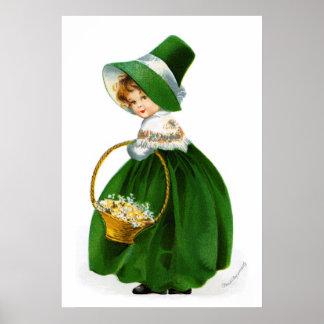 Ellen Clapsaddle's St-Patricks-Day Girl Poster