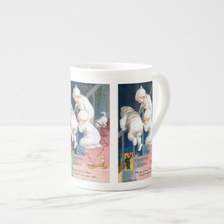 Ellen H. Clapsaddle: Christmas Toddlers Bone China Mug