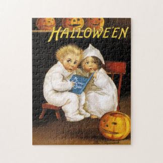 Ellen H. Clapsaddle: Thrilling Halloween Jigsaw Puzzle