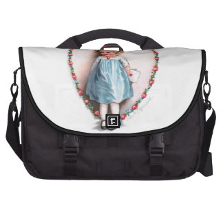 Ellen H. Clapsaddle: To The One I Love Laptop Messenger Bag