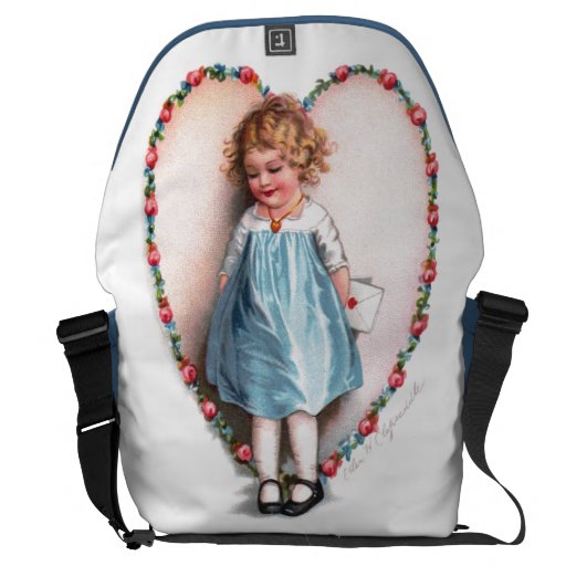Ellen H. Clapsaddle: To The One I Love Courier Bag