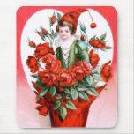 Ellen H. Clapsaddle: Valentine Roses Mouse Pad