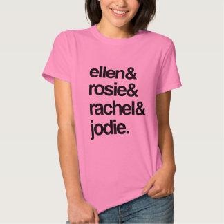 Ellen Rosie Rachel and Jodie Tees