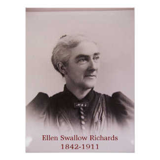 Ellen Swallow Richards  Poster
