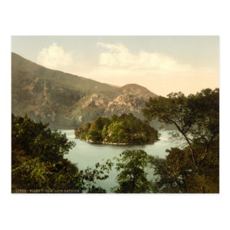 Ellen's Isle, Loch Katrine, Trossachs, Scotland Postcard