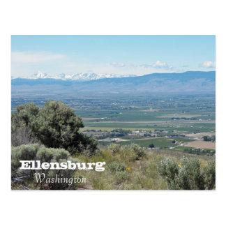 Ellensburg, Washington Travel Postcard