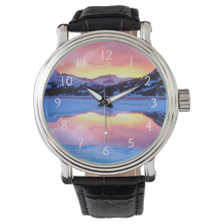 Ellery Lake at Sunset Wristwatches