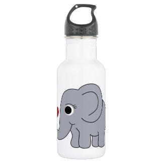 Ellie Elephant 532 Ml Water Bottle