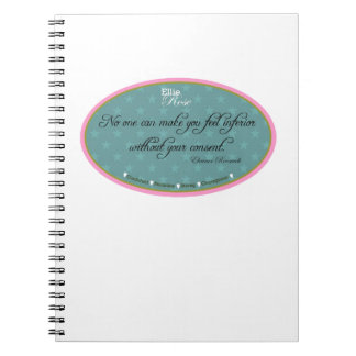 Ellie Rose Favorite Quotes Spiral Note Book