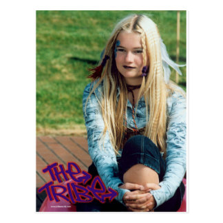 Ellie The Tribe Post Card
