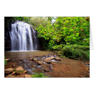 Ellinjaa waterfall, Australia Card
