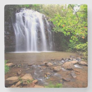 Ellinjaa waterfall, Australia Stone Beverage Coaster
