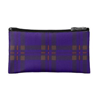 Elliot clan Plaid Scottish tartan Cosmetic Bags