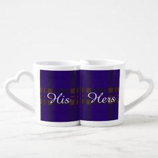Elliot clan Plaid Scottish tartan Lovers Mug