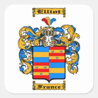 Elliot (France) Square Sticker