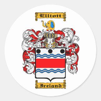 Elliot (Ireland) Classic Round Sticker
