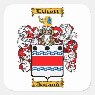 Elliot (Ireland) Square Sticker