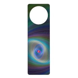 Elliptical eye door hanger