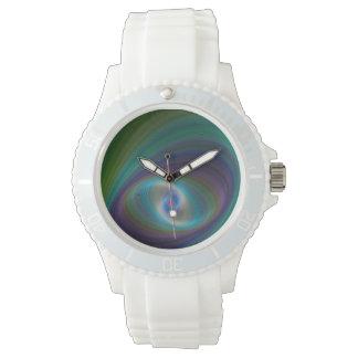 Elliptical eye wristwatch
