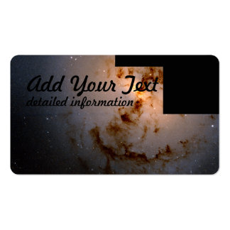 Elliptical Galaxy NGC 1316 Shows Aftermath Pack Of Standard Business Cards