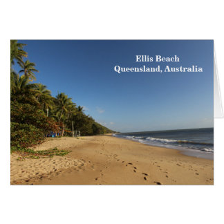 Ellis Beach, Far North Queensland, Australia Card
